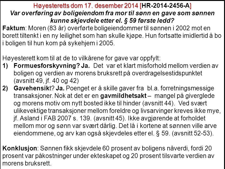 Høyesteretts dom 17. desember 2014 [HR-2014-2456-A]